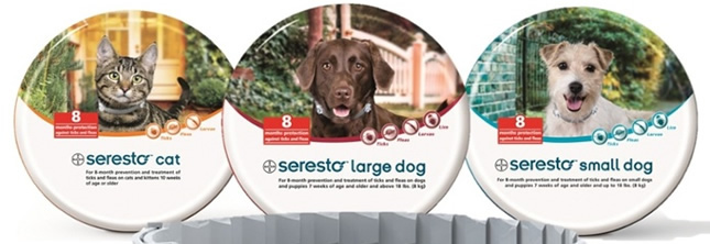 image regarding Printable Coupon for Seresto Flea Collar called Seresto Coupon will conserve financial upon flea collars - $39.99